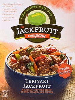 Teriyaki jackfruit